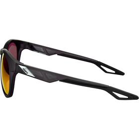 100% Campo Cykelbriller, matte crystal black | hd red multilayer/hiper lense